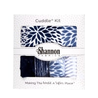 Shannon Minky Cuddle Crazy 8 Kit Moonlight Blues