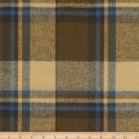 Kaufman Durango Flannel Plaid Olive