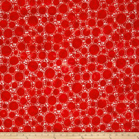 Kaufman Artisan Batiks Color Source Large Bubbles Red
