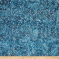 Kaufman Artisan Batiks Color Source Small Bubbles Navy