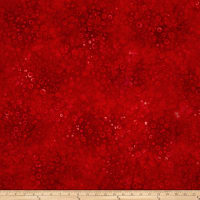 Kaufman Artisan Batiks Color Source Mottle Bubbles Red