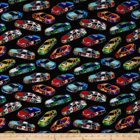 Fast Track Race Cars Black/Multi