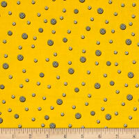 Let's Build Construction Dots Yellow