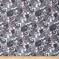 Romance Romantic Paisley Gray