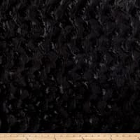 Michael Miller Minky Solid Bella Snuggle Black