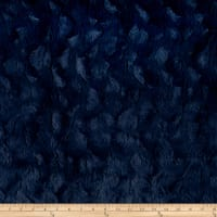 Michael Miller Minky Solid Bella Snuggle Navy