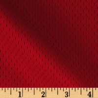 8.5 oz Athletic Stretch Mesh Red