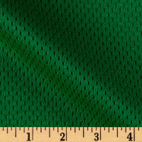 8.5 oz Athletic Stretch Mesh Kelly Green