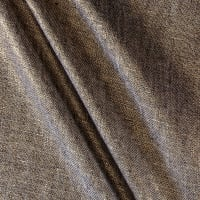 Metallic 100% European Linen Gold & Indigo