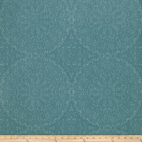 Fabricut 50040w Adulara Wallpaper Turquoise 01 (Double Roll)