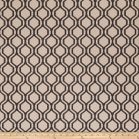 Fabricut 50078w Keys Geo Wallpaper Khaki 03 (Double Roll)