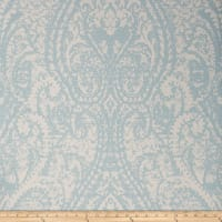 Fabricut 50172w Cachemire Wallpaper Catalina Blue 04 (Double Roll)