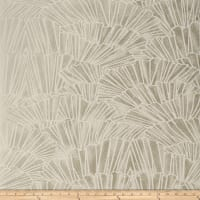 Fabricut 50173w Grimaud Wallpaper Antique Silver 05 (Double Roll)