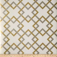 Fabricut 50174w Carrefours Wallpaper Metallic Duo 05 (Double Roll)
