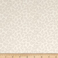 Chicken Scratch Paisleys Tan/Warm Gray