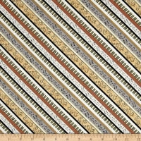 Classically Trained Diagonal Strip Gold