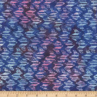 Wilmington Batiks Puzzle Pieces Blue
