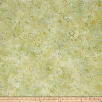 Wilmington Batiks Floating Circles Light Green