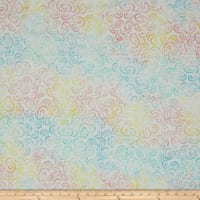 Wilmington Batiks Curlicues Multi