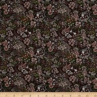 Liberty Fabrics Saville Poplin Elderberry Brown/Sangria