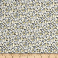 Liberty Fabrics Saville Poplin Alba Light Blue/Yellow