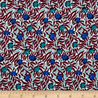Liberty Fabrics Saville Poplin Huckleberry Purple/Teal/Blue
