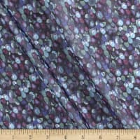 Liberty Fabrics Regent Silk Chiffon Winter Berry Blue/Purple