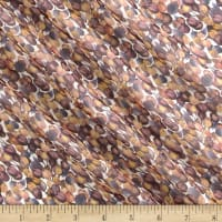 Liberty Fabrics Regent Silk Chiffon Winter Berry Salmon