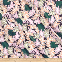 Liberty Fabrics Regent Silk Chiffon Moonlight Teal/Multi