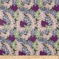 Liberty Fabrics Regent Silk Chiffon Moonlight Purple/Multi