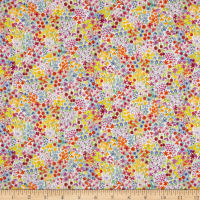 Liberty Fabrics Tana Lawn Poppy's Meadow Purple/Blue/Multi
