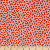 Liberty Fabrics Tana Lawn Tree Tops Red/Purple