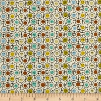 Liberty Fabrics Tana Lawn Happy Bloom Yellow/Orange