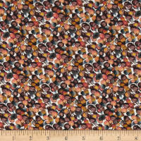 Liberty Fabrics Jersey Knit Winter Berry Salmon