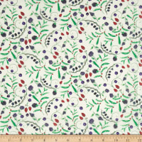 Liberty Fabrics Tana Lawn Berry Dream White/Red/Blue