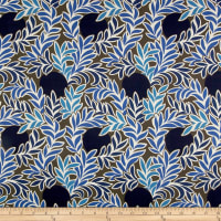 Liberty Fabrics Tana Lawn Moonlight Blue/Brown