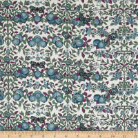 Liberty Fabrics Tana Lawn Orchard Purple/Blue/Green
