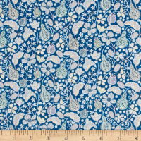Liberty Fabrics Tana Lawn Fruitful Blue/Multi