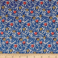 Liberty Fabrics Tana Lawn Huckleberry Blue/Grey
