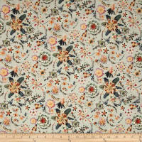 Liberty Fabrics Tana Lawn Synchronised Dinner Tan/Multi