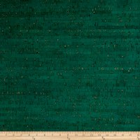 EverSewn Cork Fabric 1 Yard Emerald