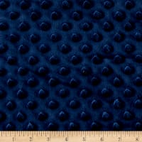 Minky Plush Dot Navy
