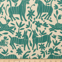 AMERICAN MADE Artistry Fiesta Otomi Inspired Jacquard Teal