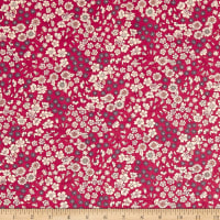 Frou-Frou Fleuri Voile Berry Punch