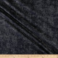"Europatex 110"" Metallic Jacquard Midnight"