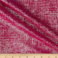 Europatex Flash Metallic Velvet Hot Pink
