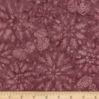 Timeless Treasures Tonga Antique Garage Batik Wintery Mix Berry