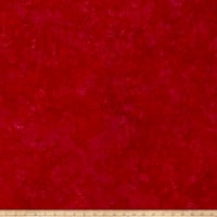 Island Batik Rayon Challis Pomegranate Seeds Red