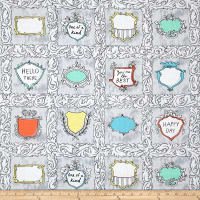 Andover Flourish Flourish Labels Royal