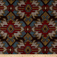 Swavelle/Mill Creek Sentosa Southwest Chenille Jacquard Chocolate